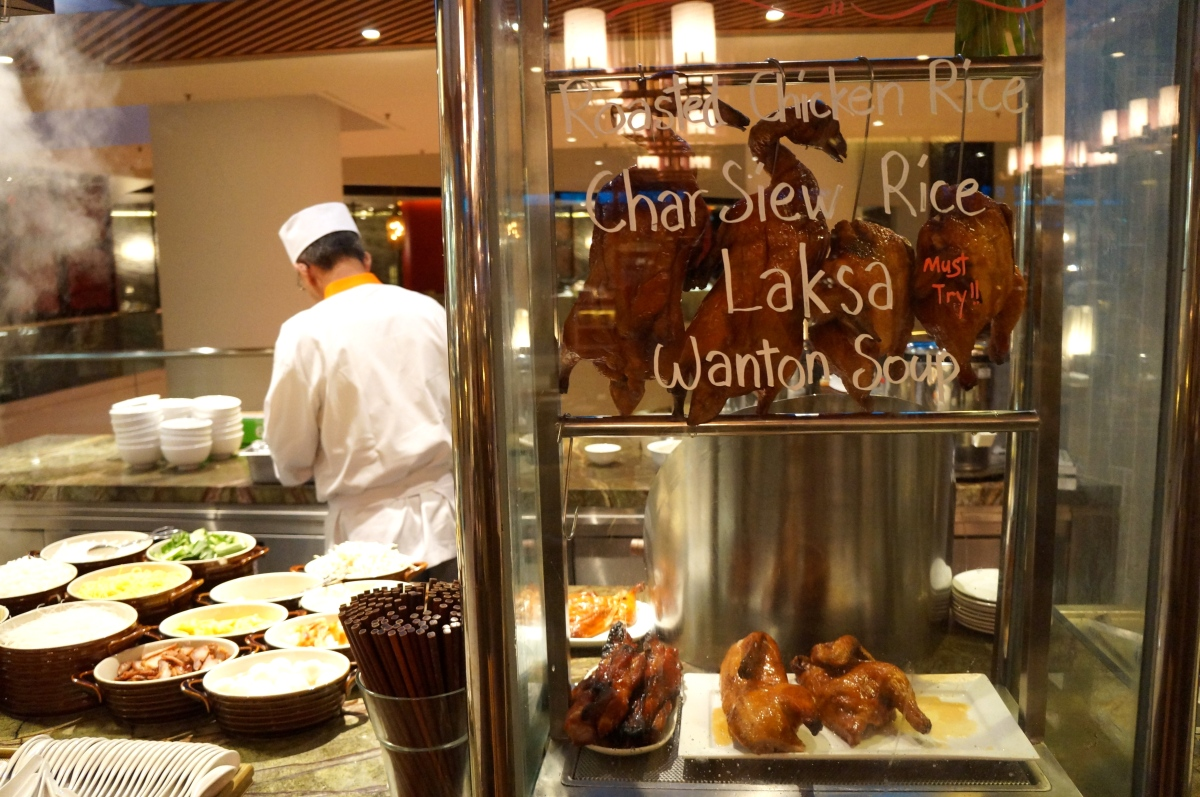 Buffet: Edge @ Pan Pacific Hotel