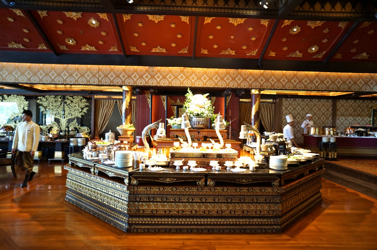Buffet: Sala Rim Naam @ Mandarin Oriental Hotel, Bangkok