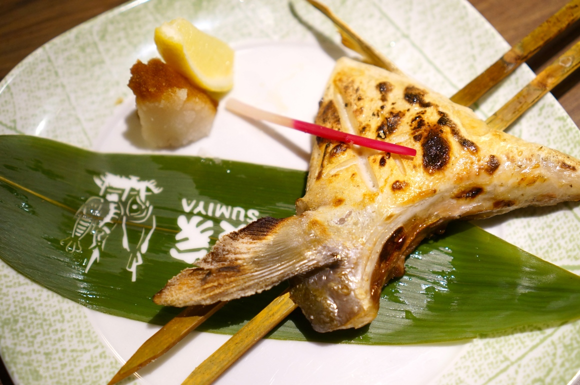 ... charcoal grilled yellowtail collar charcoal grilled yellowtail collar