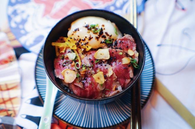 Kabuke Wagyu Bowl with Truffle Oil