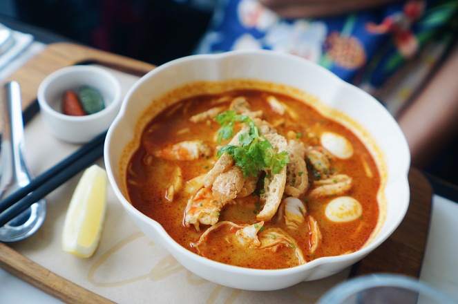 PS Crab & Prawn Laksa