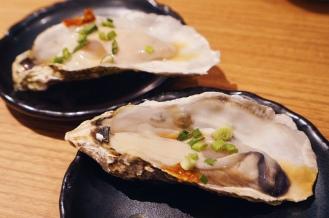Fresh Oyster with Ponzu