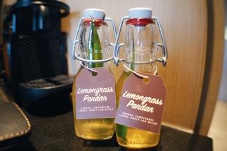 Welcome Drink - Lemongrass Pandan