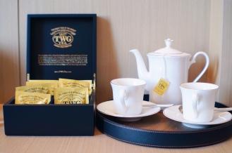 Complimentary TWG Tea & Tea Set